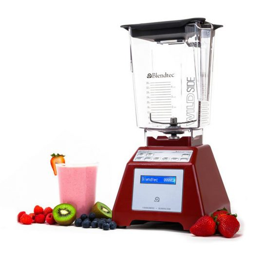 BlendTec Total Blender 3QT+2QT Red