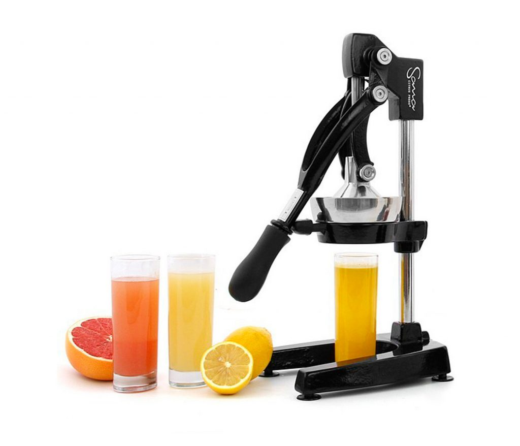 sana citrus press black