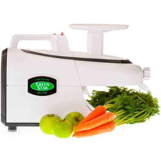 Tribest Green Star Elite juicer white