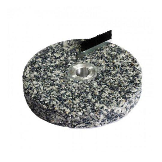 Нижний жерновой корундовый камень 85 мм