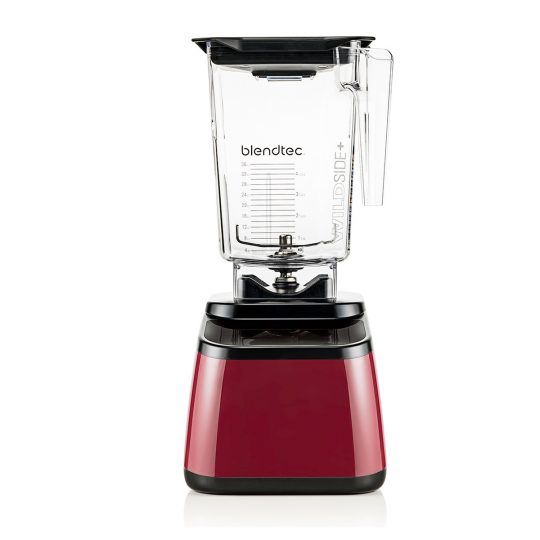 BlendTec Designer 625 Series 3QT pomegranate