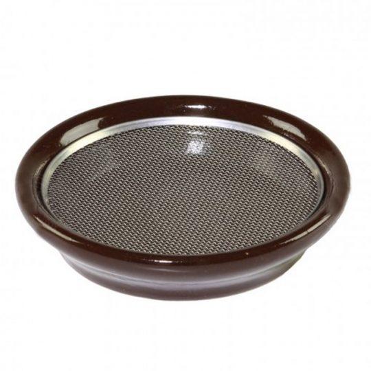 Тарелка для кресс-салатов Eschenfelder коричневая 12 см