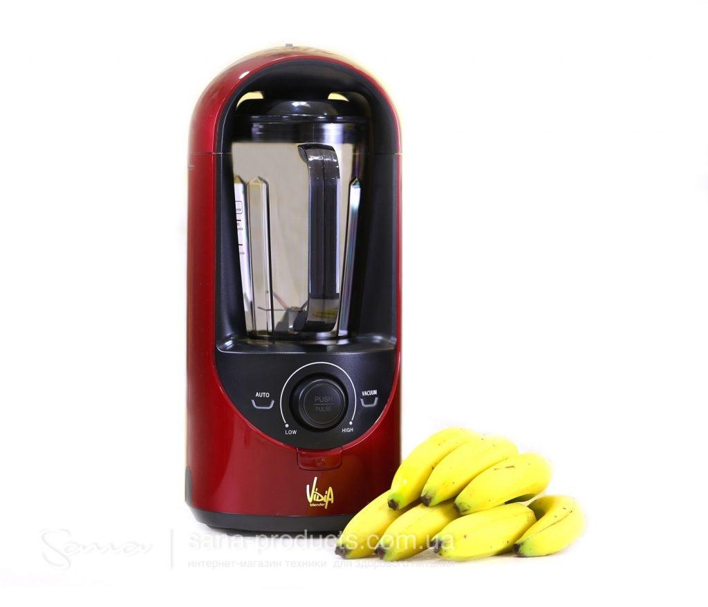 Vidia BL-001 Red профессиональный вакуумный блендер