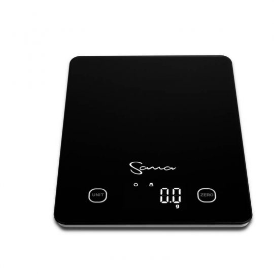 Sana Digital Kitchen Scale Black